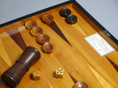 Antique German Backgammon Board