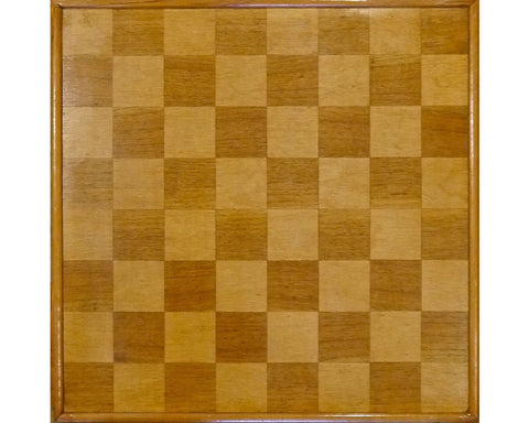 "Good German Export ""Library"" Chess Board"