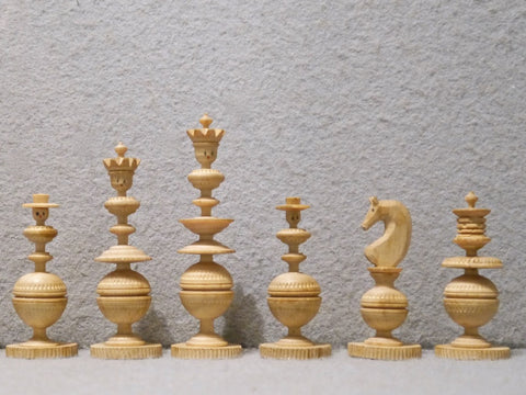 """Toy"" Chess Set, Erzgebirge, 19th century"