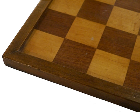 Sycamore Chess Board, 19th century