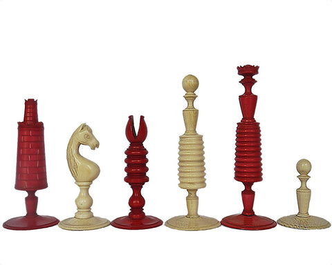 "Good ""Washington"" Chess Set, circa 1780"