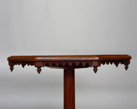 A Gothic Revival Occasional Table, circa 1860