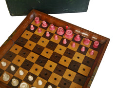 "Jaques ""In Statu Quo"" Travelling Chess Set"