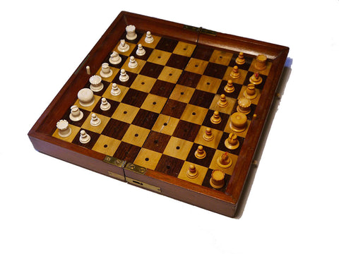 """In Statu Quo"" Chess Set, J. Jaques & Son"