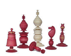 Anglo-Indian Export Chess Set, circa 1840