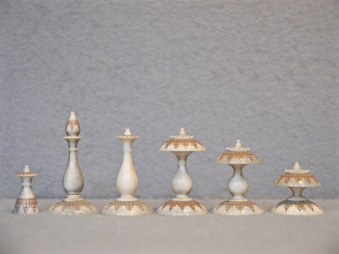 Islamic Chess Set, Northern India, 18th century