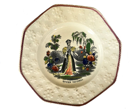 Queen Victoria Commemorative Pearlware