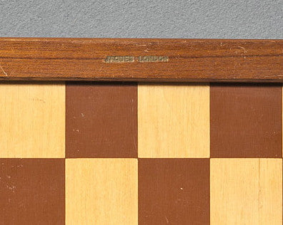 A Jaques Chess Board, circa 1950