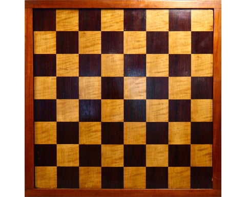 Jaques Rosewood Chess Board, circa 1890