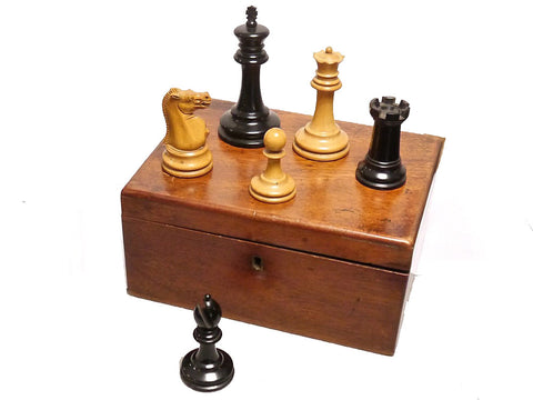 Jaques Staunton Chess Set, circa 1870-5