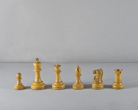 Jaques Staunton Chess Set, circa 1915