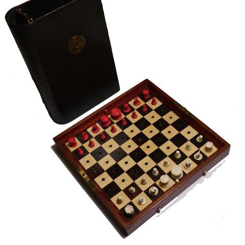 In Statu Quo Chess Set, Jaques, 19th Century