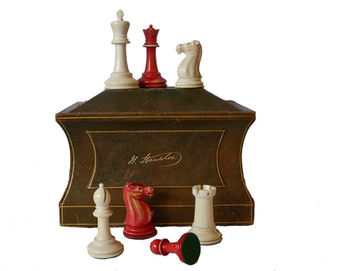 Jaques Staunton Ivory Chess Set