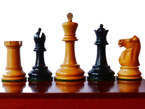 Jaques Staunton Weighted Chess Set, circa 1930