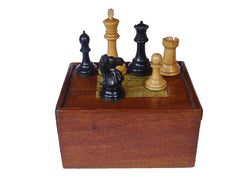 Jaques Staunton Chess Set, circa 1900
