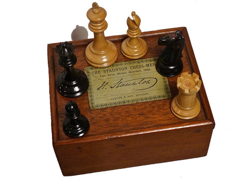 Jaques Staunton Chess Set, circa 1880
