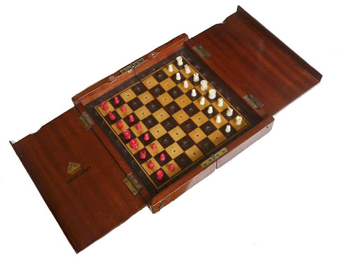 Jaques Travelling Chess Set, circa 1925