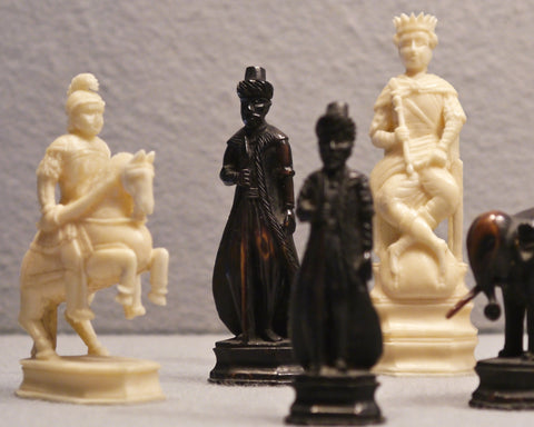 Russian Export Chess Set, 18th/19th century