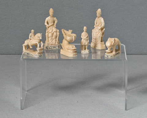 Russian Kholomogory Chessmen, 18th century