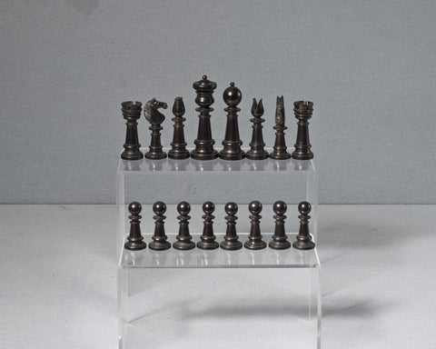 Edinburgh Upright Chess Set, circa 1860