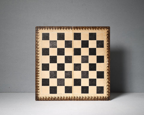 Jaques Leather Chess Board, circa 1950