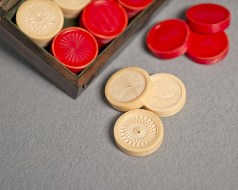 Holtzapffel Ivory Games Counters, circa 1850