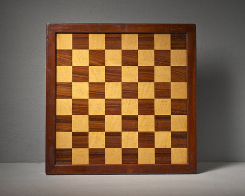 An English Rosewood Chess Board, circa 1890