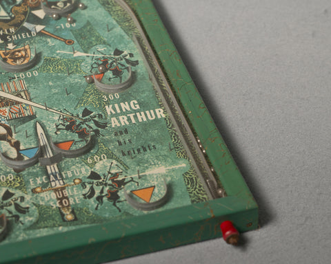 """King Arthur"" Pinball Game, 1950's"