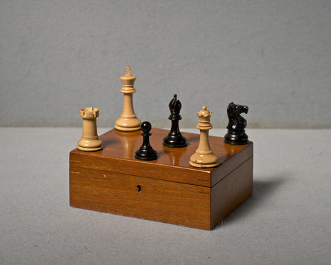 An English Staunton Chess Set, circa 1930