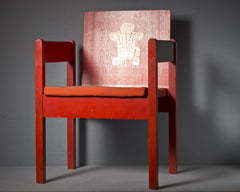 A Prince of Wales Investiture Chair, 1969