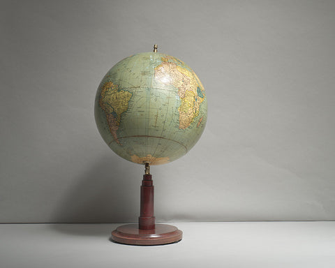 Art Deco Columbus Table Globe, circa 1925