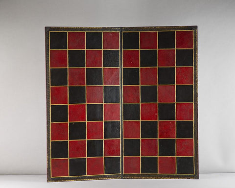 A Jaques Chess Board, circa 1850-60