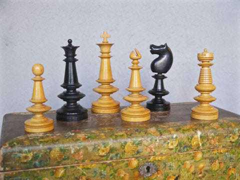 Large Coffee House Chess Set, Hamburg