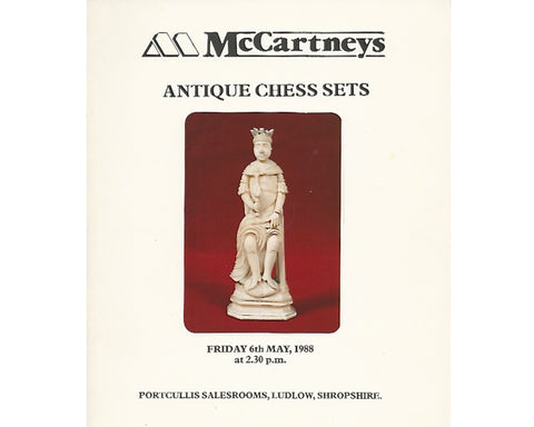 McCartneys Chess Auction Catalogue, 1988