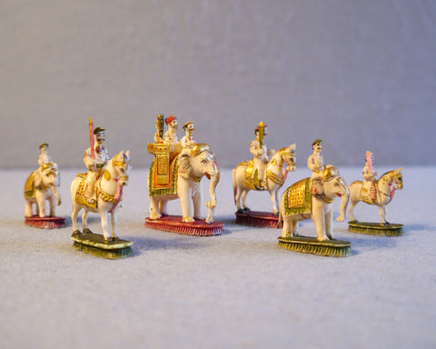 Berhampur Part-Chess Set, 19th century