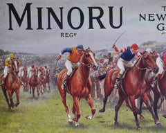 Minoru 'The New Race Game' by Jaques, 1911