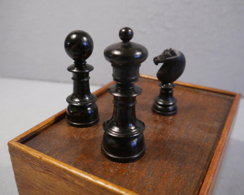 """Northern Upright"" Chess Set, 19th century"