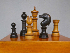 Northern Upright Chess Set, circa 1860