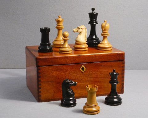 A British Chess Company Staunton Set, No 1.S