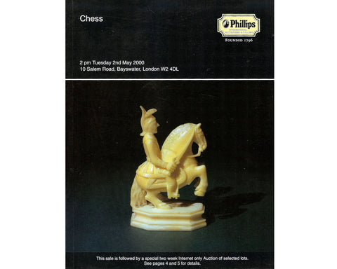 Phillips Chess Auction Catalogue, May 2000