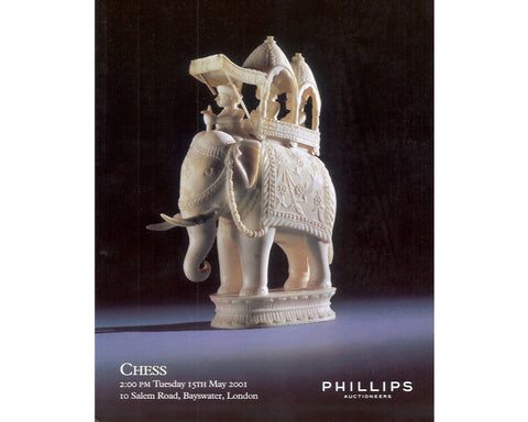 Phillips Chess Auction Catalogue, May 2001
