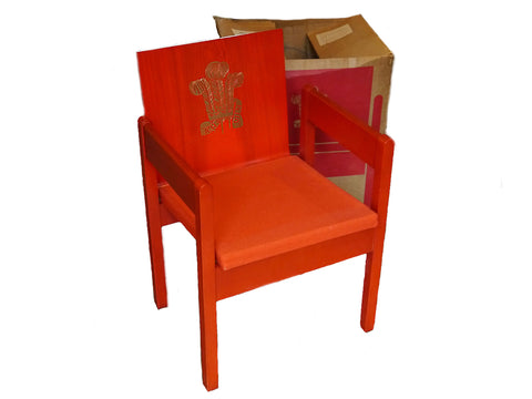 Prince of Wales Investiture Chair, 1969