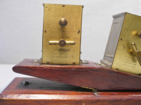 Prototype Patent Carriage Chess Timer, 1881/2