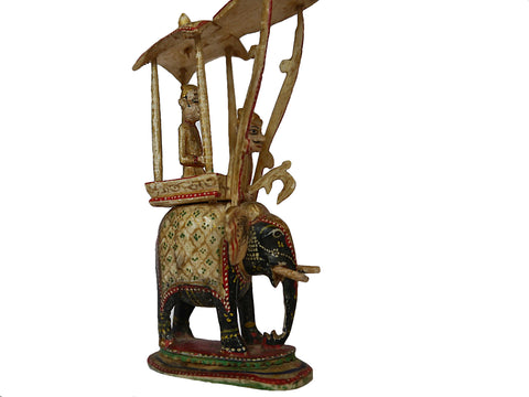 Rajasthan Elephant Chess Queen, circa 1840