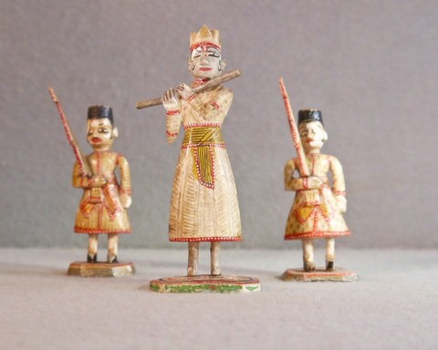 Ten East India Company Chessmen, circa 1840