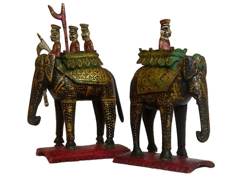 Two Rajasthan Chessmen, Late 18th Century