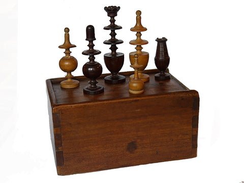 Régence Chess Set, Inscribed, Paris, 1826