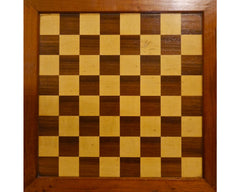 Jaques Rosewood Chess Board, 19th century