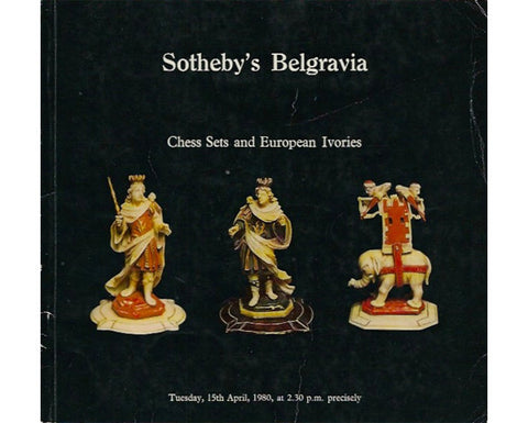 Sotheby's Belgravia Chess Catalogue, 1980