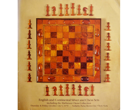 Harbeson Chess Collection Auction Catalogue